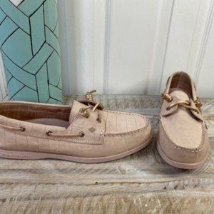 Sperry A/O Vida Croc Angelfish Boat Shoes